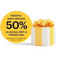 Save 50 At Pawniquely Yours by Switch To Sprint And Save 50 On Your Monthly Rates