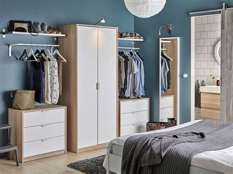 bedroom wardrobe storage 50 ikea bedrooms that look nothing but charming