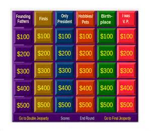 jeopardy review template powerpoint doc classroom jeopardy template this site has my