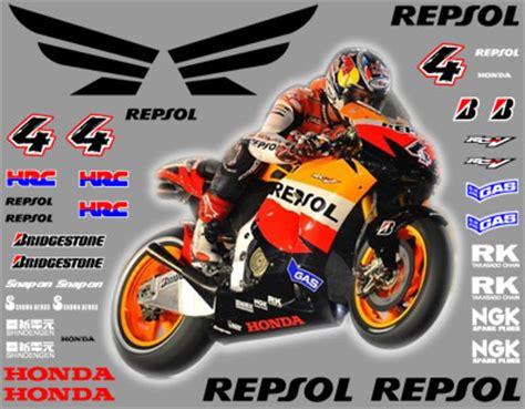 Sponsoren Aufkleber Kit by Graphics And Stickers Honda Sponsor Kits