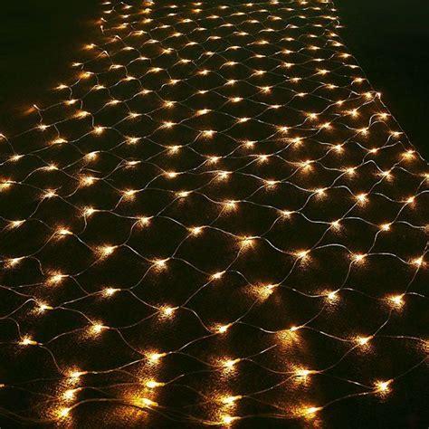 lights for hedges led outside warm white