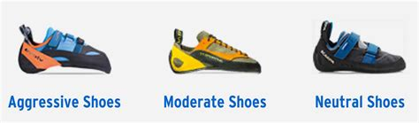 types of climbing shoes sticky soles climbing shoes explained
