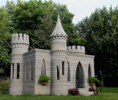 3d printer house could this 3d printed mini castle be a step towards the first american 3d printed