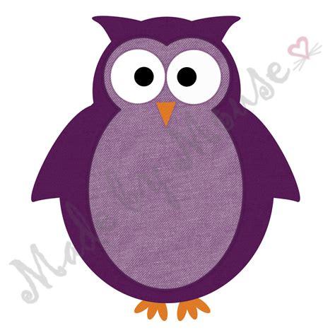 Owl Purple owls clipart purple