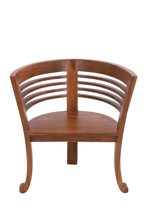 Wooden Barrel Chairs by Teak Wood Barrel Chair For The Home