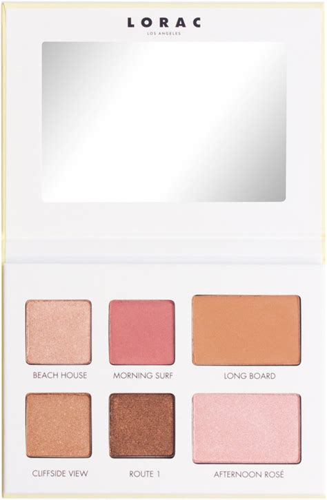 Eyeshadow Venice lorac la eyeshadow palettes inspired by santa venice beverly and more