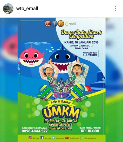 baby shark jawa dance baby shark competition kids parents events
