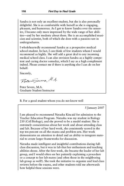 postgraduate essay sle recommendation letter graduate school application 28