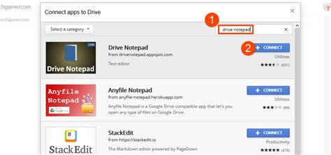drive notepad how to create and edit text files in google drive techgainer