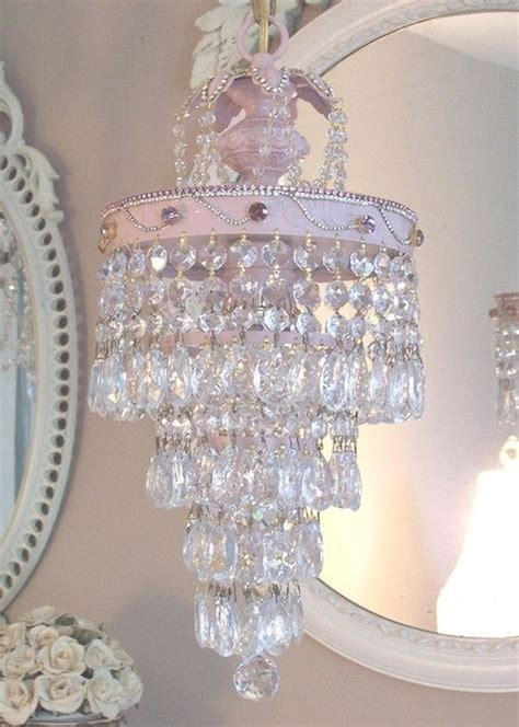 girly chandelier 25 best ideas about shabby chic chandelier on