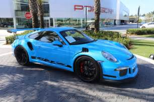 Used 911 Porsche 2016 Used Porsche 911 2dr Coupe Gt3 Rs At Porsche West