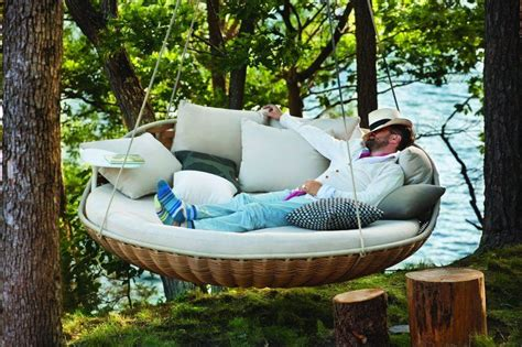 hanging outdoor bed outdoor indoor extra large luxury hanging rattan day bed