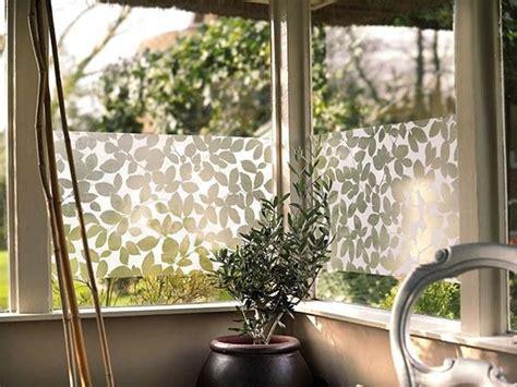 leaf decorative window film privacy static cling