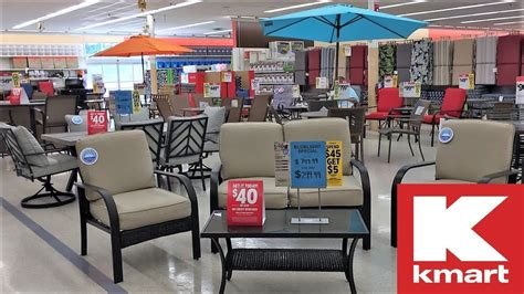 kmart patio furniture outdoor home decor clearance shop   shopping store walk thorugh