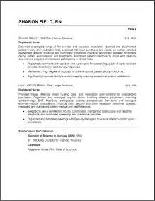 resume sle template icu r resume template