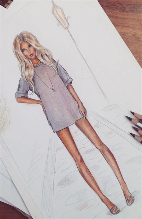 drawing of hot girl dresses best 20 fashion illustration