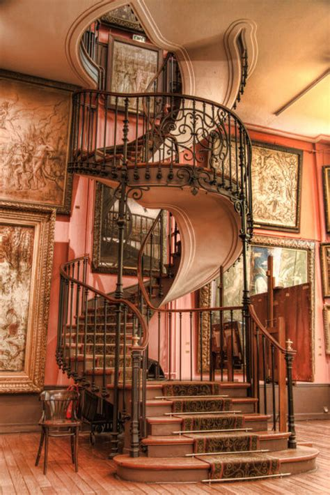 gorgeous decorative steampunk spiral staircase pictures