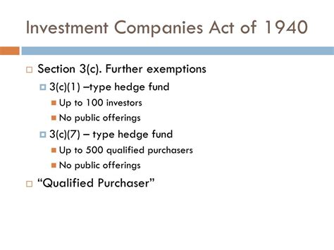 investment company act section 3 c ppt bernie madoff powerpoint presentation id 149577