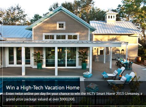 Smart Home Sweepstakes - hgtv smart home giveaway debt free spending