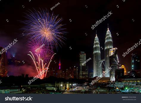 new year 2016 celebration in kuala lumpur kuala lumpur malaysia 1st january 2016 stock photo
