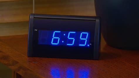 alarm clock      stock footage video