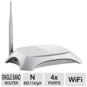 Router Mr3220 tp link tl mr3220 wireless n router 3g 3 75g 4x 10 100 lan ports 1x 10 100 wan port 1x