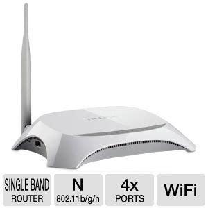 Wireless N Router Tl Mr3220 tp link tl mr3220 wireless n router 3g 3 75g 4x 10 100 lan ports 1x 10 100 wan port 1x