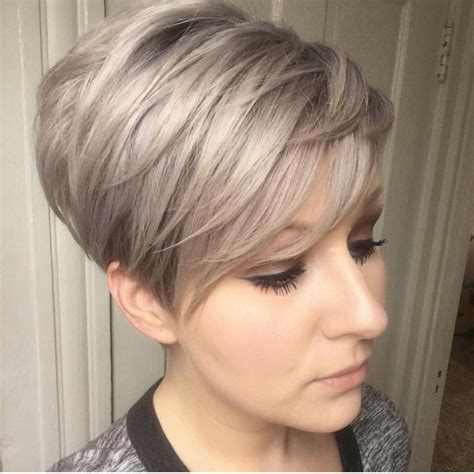 puffy short bob haircuts for women with thick hair 10 trendy layered short haircut ideas for 2017 2018