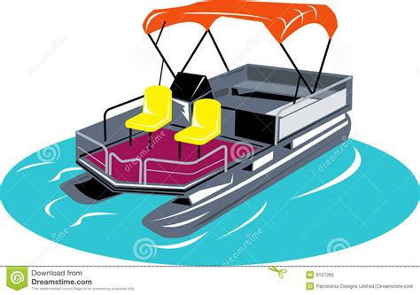 pontoon cliparts - Pontoon Boat Clipart