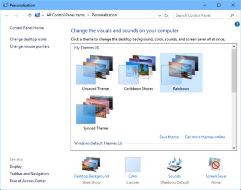 slideshow themes windows how to install wallpaper themes in windows 10