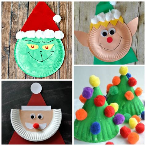 easy paper plate christmas crafts paper plate crafts growing a jeweled