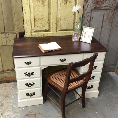 white distressed desk hostgarcia