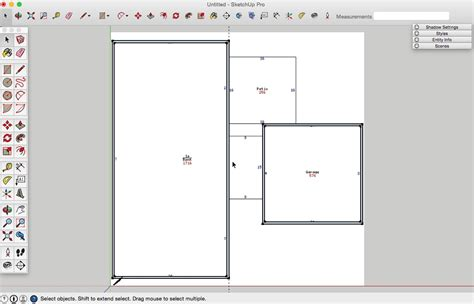 create floor plan in sketchup how to draw a basic 2d floor plan from an image file in