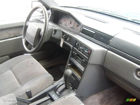 volvo 940 interior 1994 blue green metallic volvo 940 turbo sedan 543614