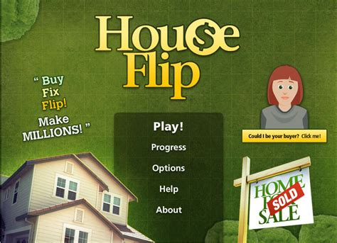 flipping a house play house flip online free to test your skill at flipping houses the household