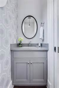 Grey Powder Room Gray Quartz Countertops Design Ideas