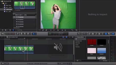 tutorial final cut pro youtube tutorial final cut pro x edicion pantalla verde youtube