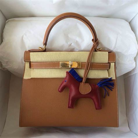 Tas Hermes Carry On Leather Free Hardware Gold 819 5 Tas Wanita wholesale bag 28cm sellier c37 light coffee epsom
