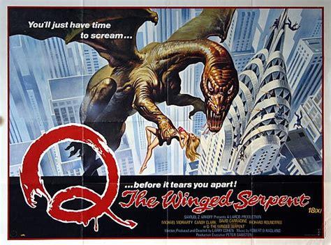 horror film q q the winged serpent 1982 hard splattercore