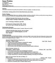 teaching resume free job resume examples