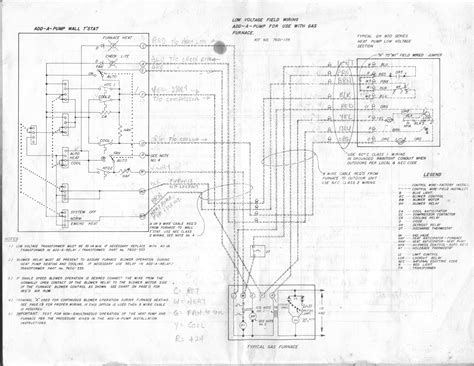 gibson furnace thermostat wiring diagram 40 wiring