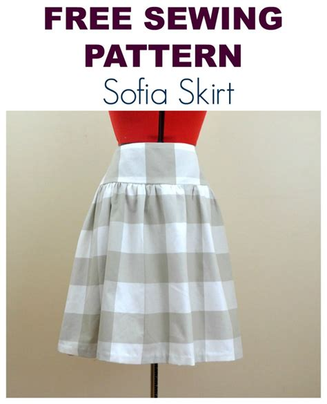 free sewing patterns and tutorials on the cutting floor free sewing pattern the sofia skirt on the cutting