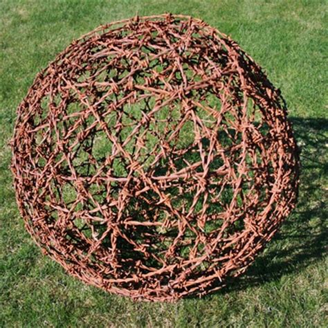 barbed wire balls secret garden pinterest