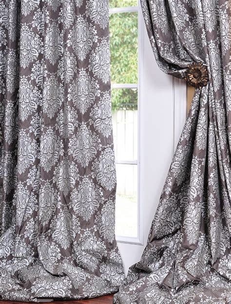 plum and grey curtains 17 best ideas about silk curtains on pinterest drapery