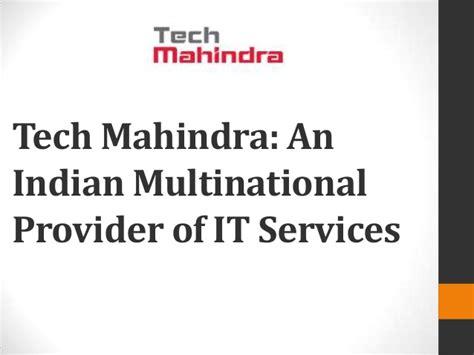 tech mahindra webmail link tech mahindra an indian multinational provider of it services