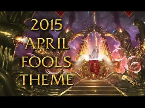 music theme urf lol login theme 2015 april fools urf is back youtube