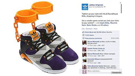 Jeremy Scott's 'Shackle' Sneaker Causes Racism Controversy (Poll)   Hollywood Reporter