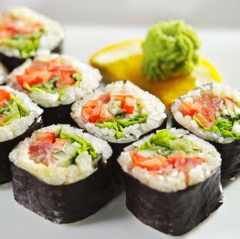 Sushi Kitchen Vegetarian Japanese Food Recipe For Vegetarian Sushi