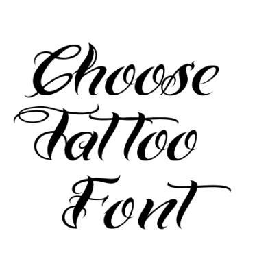 hand tattoo generator tattoo fonts tattoo collections