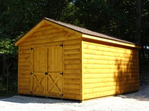 Log Sided Sheds by Atlantic Shed Log Sided Storage Buildings